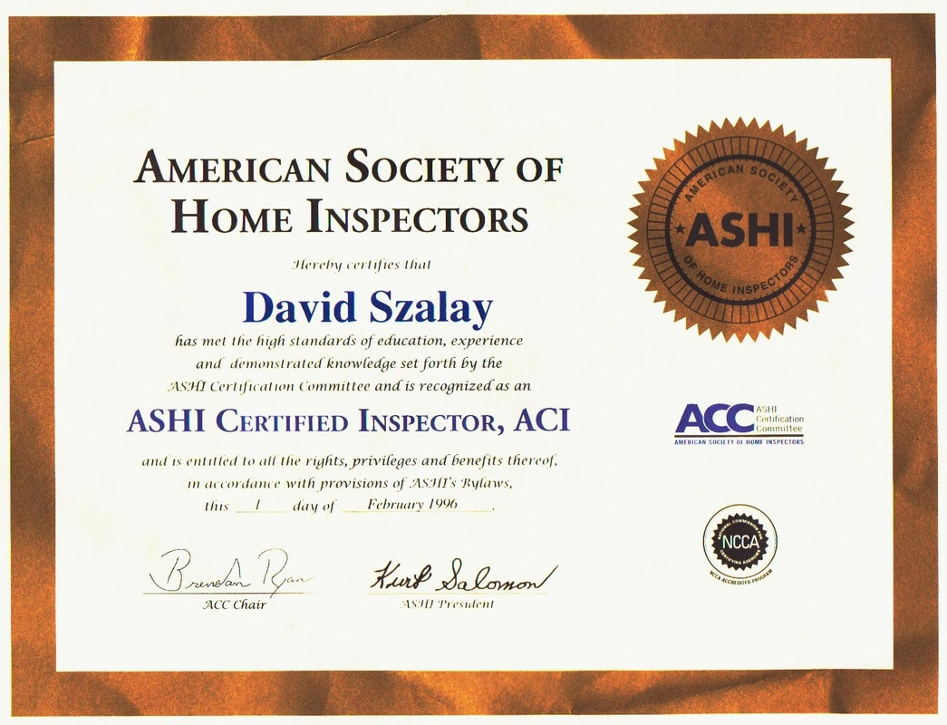 Inspector David\'s Experience - Construction Degreed Home Inspector ...